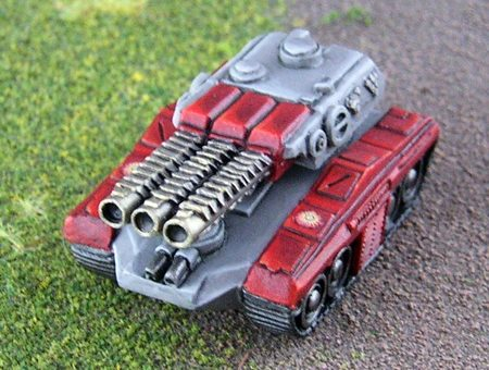 DI Morgan Assault Tank
