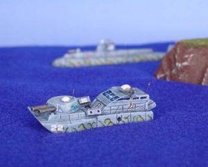 Monitor Naval Vessel