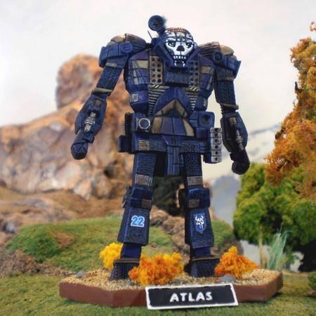 Atlas Museum Scale