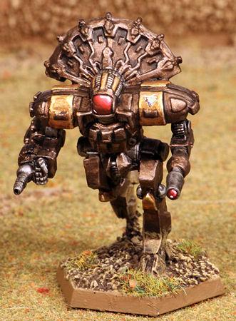 Huron Warrior Resculpt HUR-WO-R4L