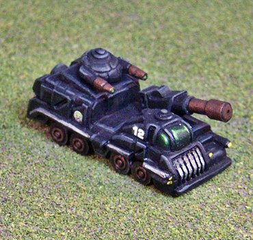 Danai Support Vehicle
