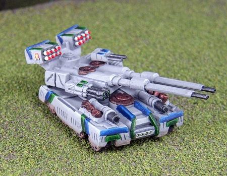 DI Schmitt Wheeled Assault Tank