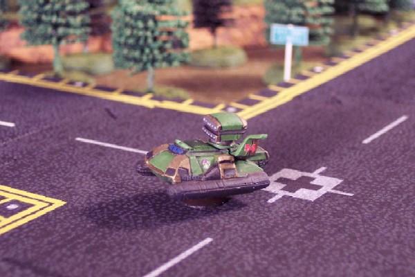 Harasser Tank