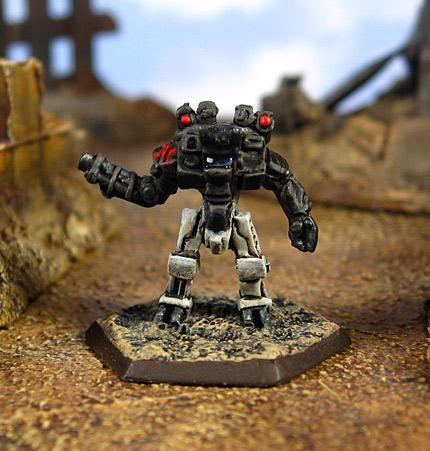 Asura Medium Battle Armor