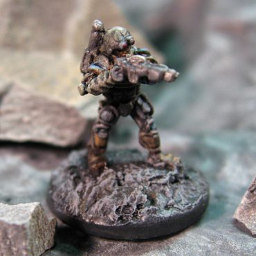 Lyran Heavy Infantry (firing)