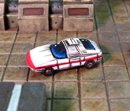 Rotunda Armored Car