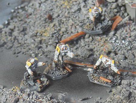 Purifier Battle Armor Resculpts
