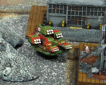 JES I Tactical Missile Carrier