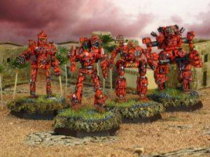 Medium Attack Lance, Second Robinson Rangers, AFFS