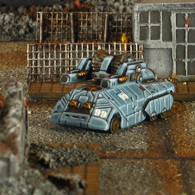 Fortune Wheeled Assault Vehicle