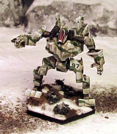 Shadow Hawk LAM ('Mech) SHD-X2
