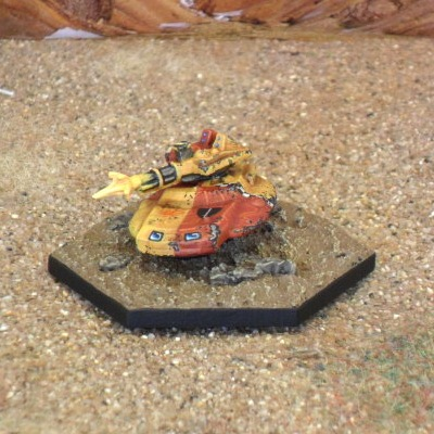 Musketeer Hover Tank