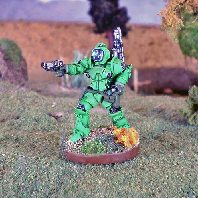 Night Hawk Power Armor Bounty Hunter