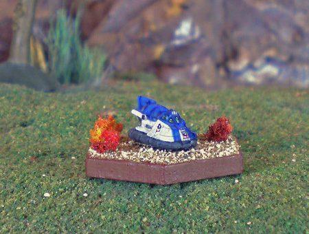 Savannah Master Hovercraft