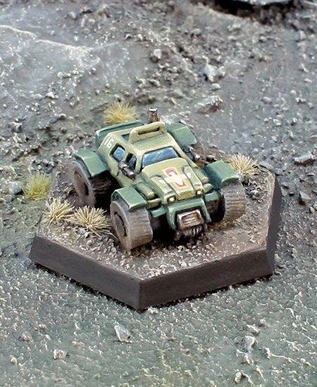 Ibex Armed SUV