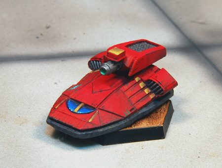 Scapha Hovertank