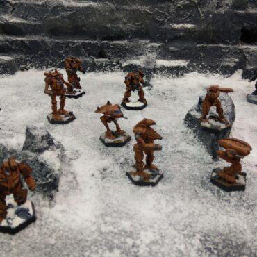 Wolf's Dragoons Alpha Regiment – 2018 Diorama