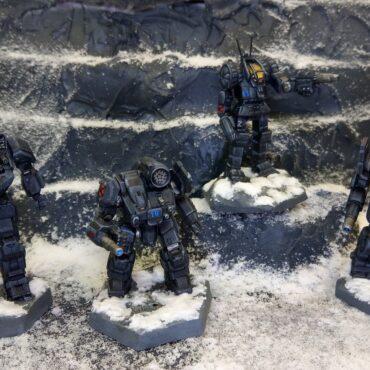 Wolf's Dragoons Zeta Battalion – 2018 Diorama