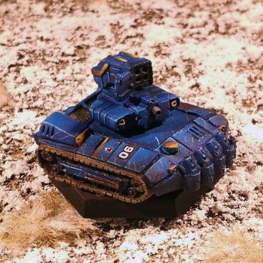 Testudo Siege Tank