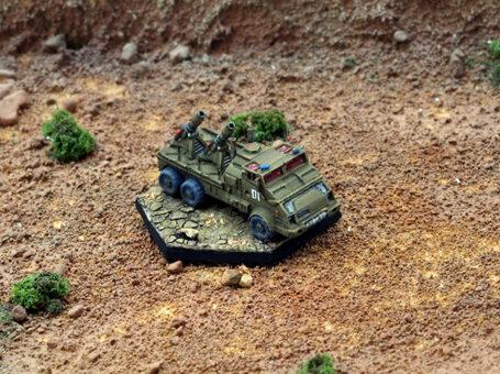 Flatbed Truck (Mortar Version)